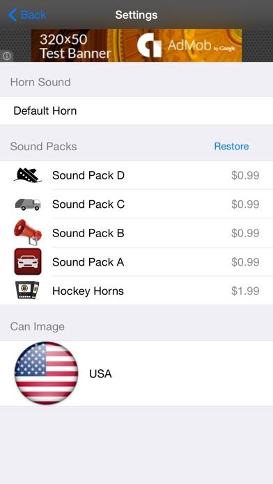 i-Horn screenshot two
