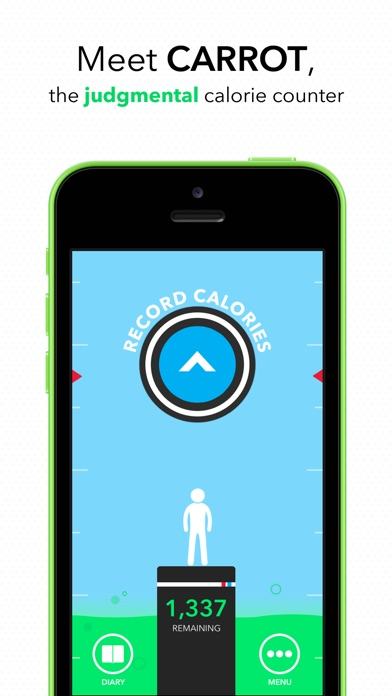 download CARROT Hunger - Talking Calorie Counter apps 4