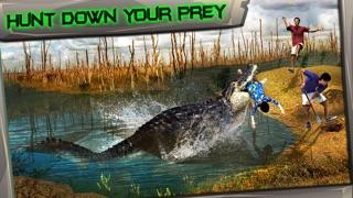 Screenshot #3 pour Swamp Crocodile Simulator 3D