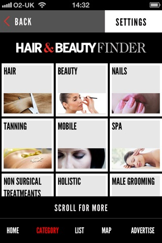Hair and Beauty Finder screenshot 2