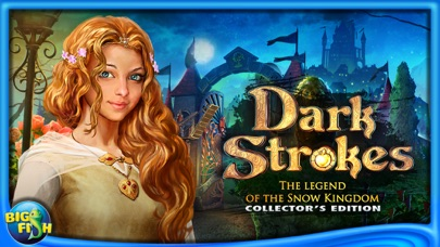 Dark Strokes:  The Legend of the Snow Kingdom – A Hidden Object Mystery-4