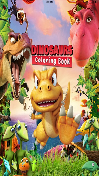 Toddler Dinosaur Coloring Book
