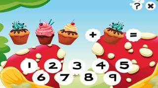 123 Actif! Jeu Pour Apprendre À Additionner Avec des Biscuits Pour Les EnfantsCapture d'écran de 1