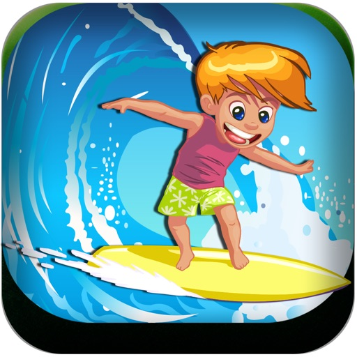 Crazy Water Wave Surfer - Awesome water racing game iOS App