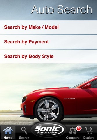 Sonic Auto Search screenshot 1