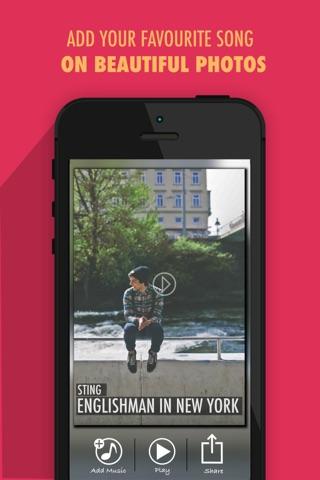 Pic Music - Create stunning musical greetings cards screenshot 2