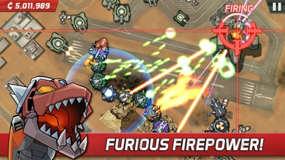 Screenshot #10 for Colossatron: Massive World Threat