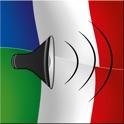 French / Italian Talking Phrasebook Translator Dictionary - Multiphrasebook icon