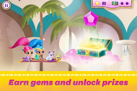 Shimmer and Shine:  Enchanted Carpet Ride Game screenshot 4