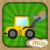 La Construcción para Niños - Camión de Volteo, Montacargas Puzzles, Dibujos y Actividades