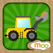 Construction Vehicles - Digger, Loader Puzzles, Games and Coloring Activities for Toddlers and Preschool Kids