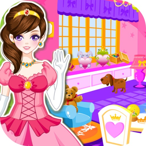 Princess Room Cleanup - House Sweeping, Design Castle iOS App