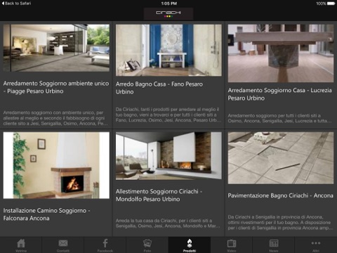 ciriachi on the app store - Arredo Bagno Senigallia