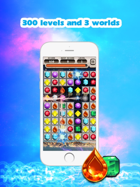 Jewels Saga 2 для iPad