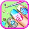 公主美甲沙龙 - 指甲油设计彩绘单机小游戏免费大全 icon
