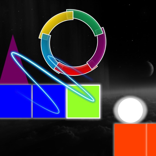 Geometry Jump Circle - Amazing Color In The Circle Jump Game iOS App