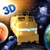 Flying Train Fantasy Flight Simulator: Drive Muscle Train like aircraft pilot