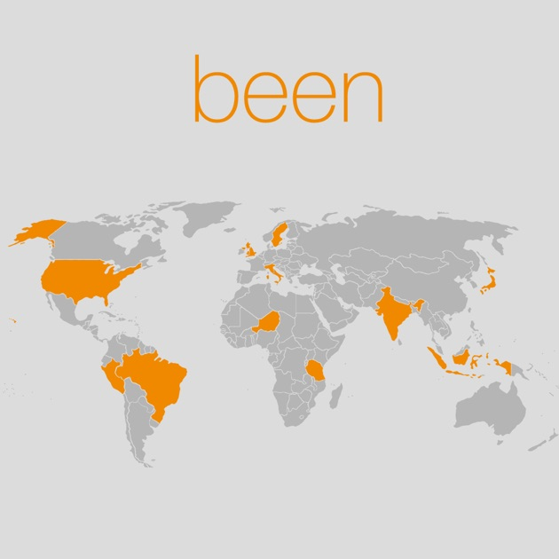 been on the App Store – Travel Map Where I Ve Been