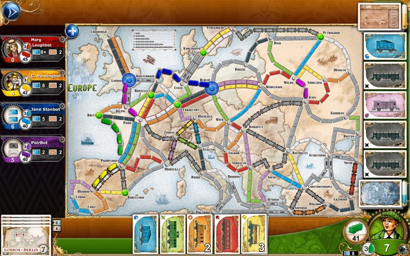 Screenshot #2 for Ticket to Ride
