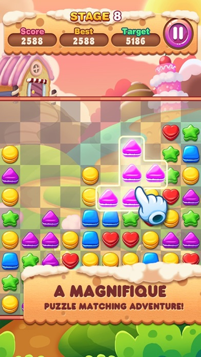 download Cookie Smash - Fun Cookie Game apps 1