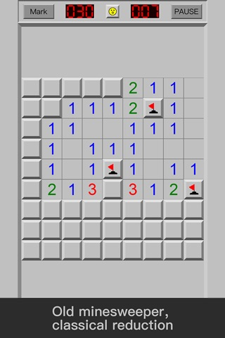 Classic Minesweeper: a puzzle funny game for free screenshot 1