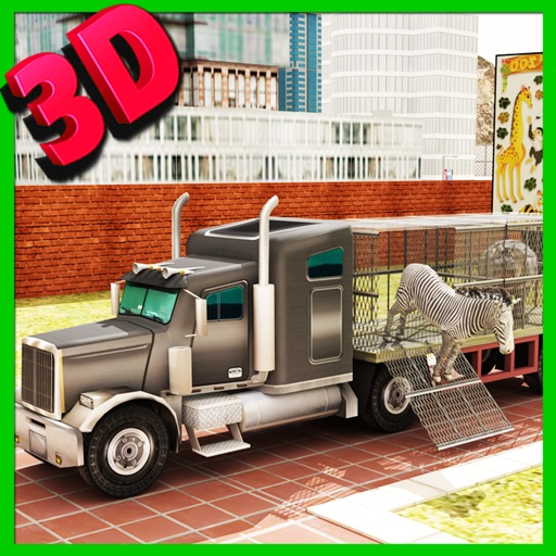 Zoo Animal Transport Truck Driving and Parking Mania