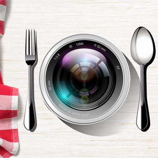 Food Photo Editor iOS App