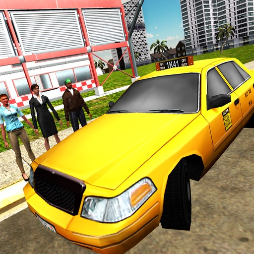City Taxi Modern Duty Driver 3D - Crazy Cab Car Driving Game iOS App