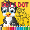 Dot to Dot Coloring Book: complete coloring pages by connect dot games free for toddlers and kids Wiki
