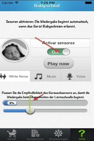 Baby Sleep White noise screenshot 4