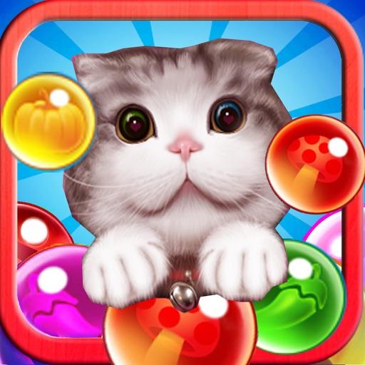 Pop Bubble Pet - Cat Jelly Infinity Mania Shooter iOS App