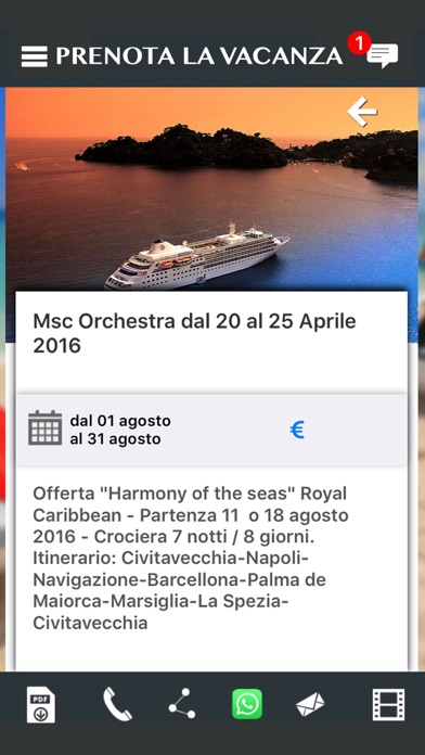 Screenshot of Magifla Viaggi - Viaggi e Turismo4