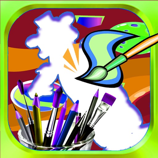 Draw Pages Game Madagascar  Edition iOS App