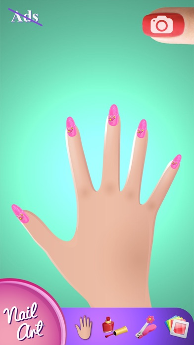 Princess nail art games for girls design fancy nails in best iphone screenshot 3 prinsesfo Gallery