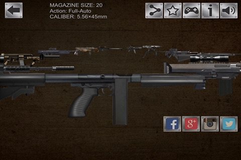 Gun Sim Weapons Pro screenshot 2