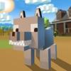 Blocky Wolf Simulator 3D