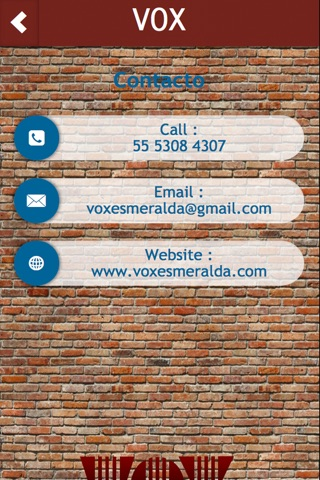 VOXapp screenshot 2