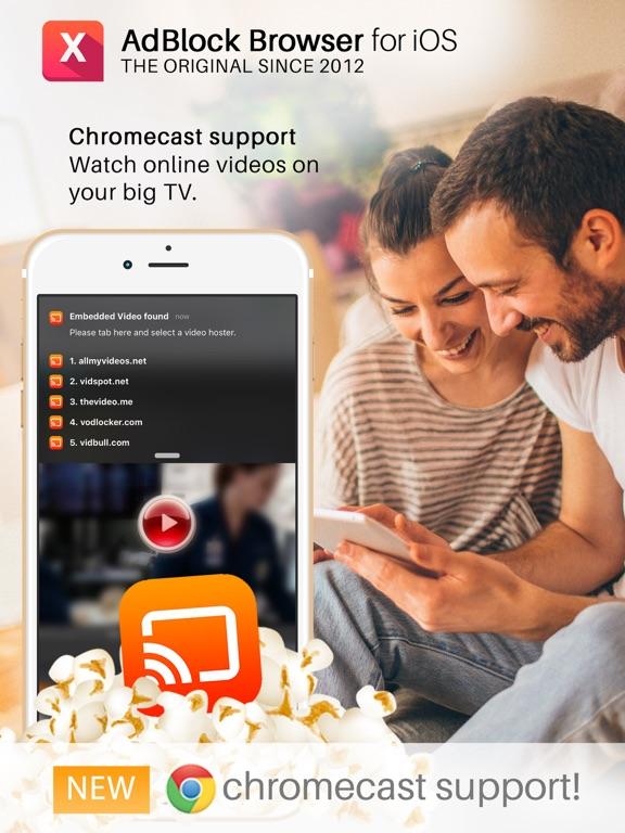 how to add adblock on chrome ipad