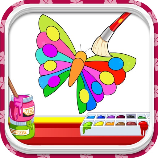 My Coloring Book - Try many coloring pages iOS App