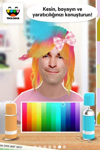Toca Hair Salon Me screenshot 2