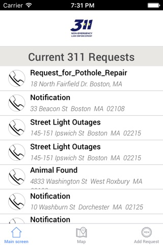 311 Mobile City Services screenshot 2