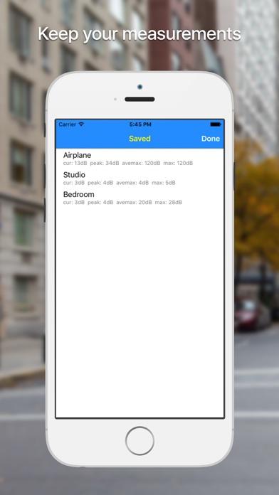 Screenshot #3 pour dB meter - mesure du bruit