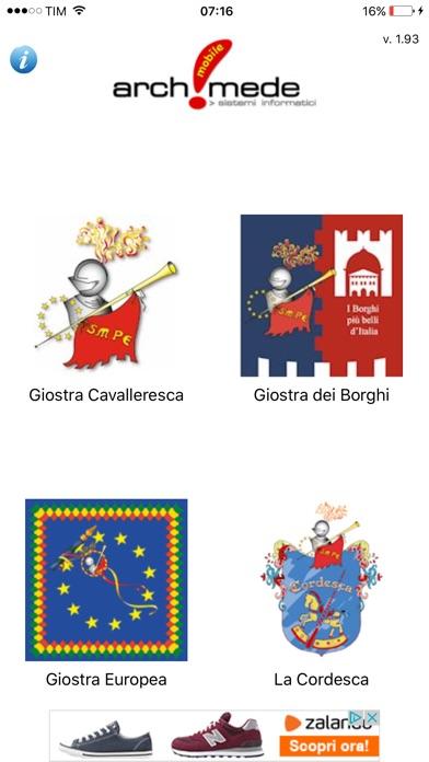 Screenshot of Giostra Cavalleresca Sulmona2