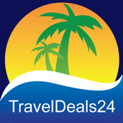 Vacation Deals - Flights - Cruises - Hotels by TravelDeals24 icon