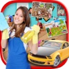 kids - Garden, Office & Garage - Cleaning And washing Games