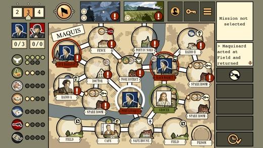 Maquis Board Game Screenshot