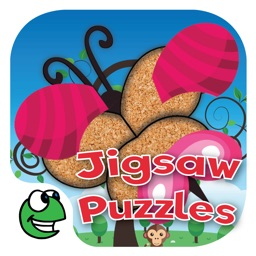 Jigsaw Puzzles Hits for Kids and Toddlers ∙ Jigsaw learning and educational game with animals