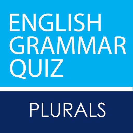 Plurals - English Grammar Game Quiz iOS App