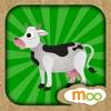 農場動物 - 兒童益智遊戲 , 動物叫聲, 圖畫書, 拼圖遊戲 (英語, 國語) by Moo Moo Lab