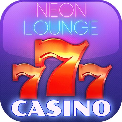 Neon Lounge Casino - Play Las Vegas Slot Machines to Bet, Spin & Win Big iOS App